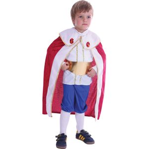 Childs King Costume Toddler Age 2-4 Years