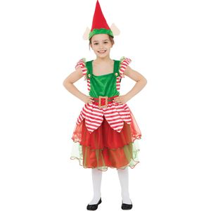 Childs Elf Girl Costume Age 7-9 Years
