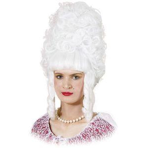 Lady Pompadour Wig (White)