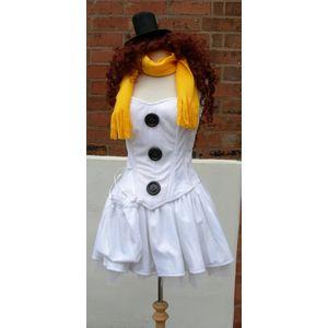 Sexy Snow Girl Ex Hire Sale Costume Size 8-10