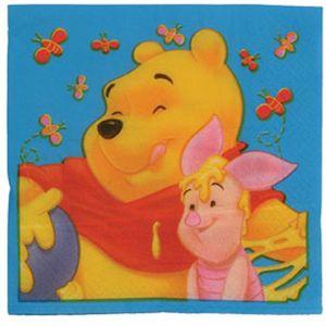 Winnie The Pooh Napkins x 20