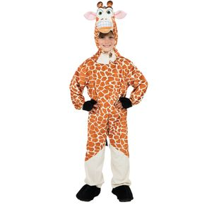 Childs Plush Giraffe Costume Age 7-8 Years