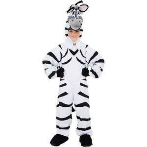 Childs Plush Zebra Costume Age 7-8 Years