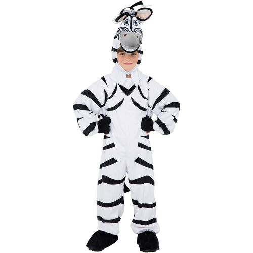 Childs Plush Zebra Fancy Dress Costume Age 7-8 Years