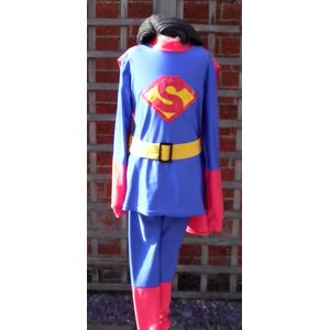 Superman Junior Ex Hire Sale Costume Age 9-11 Years