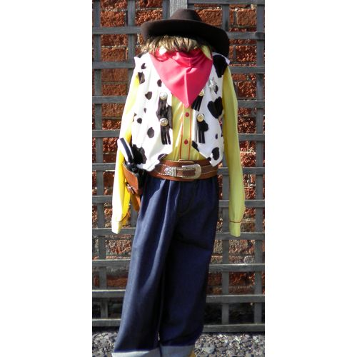 Woody Toy Story Junior Cowboy  Ex Hire Fancy Dress Sale Costume Age 9-11 Years