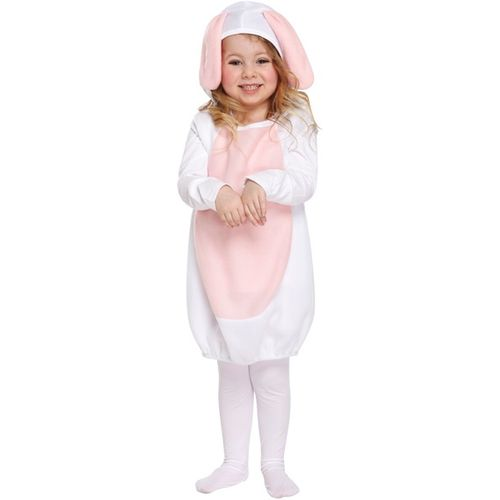 Childs Cute Rabbit Fancy Dress Costume Toddler Age 3 Years