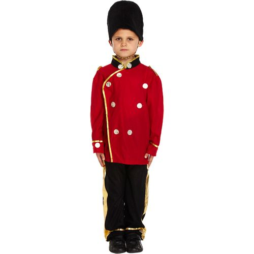 Childs Busby Guard Fancy Dress Costume Age 7-9 Years