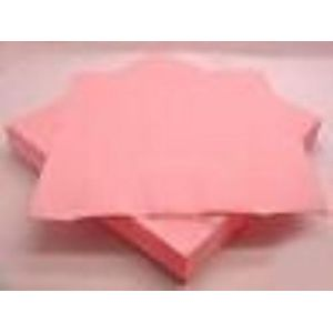 Plain Napkins x 16 (Pink)
