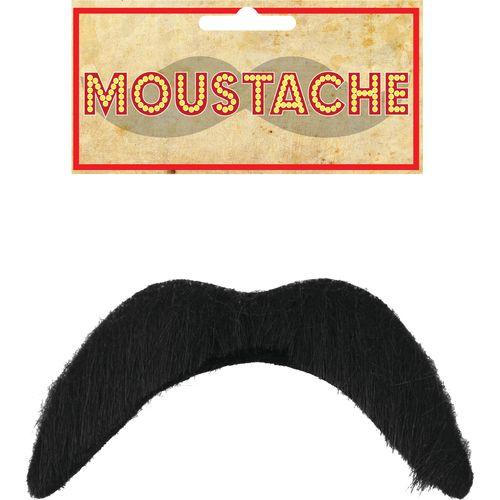 Black Mexican Fancy Dress Moustache Costume Accessory