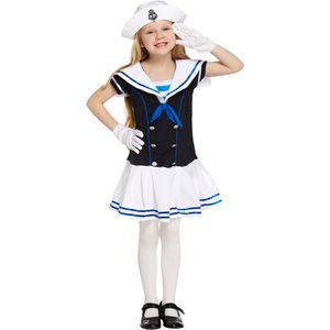 Childs Sailor Girl Costume Age 4-6 Years