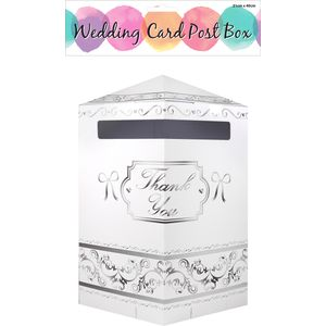 Wedding Card Thank You Post Box 31cm X 40cm