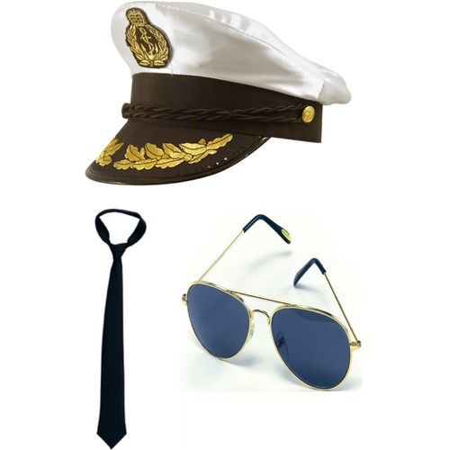 Sailor Captain Hat Costume Set Accessory