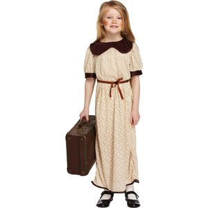 Childs Evacuee Girl Fancy Dress Age 10-12 Years