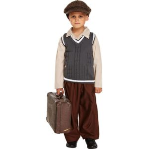 Childs Evacuee Boy Fancy Dress Age 10-12 Years