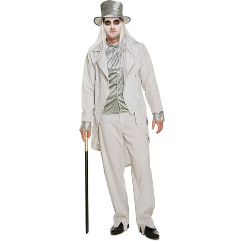 Zombie Gentleman Halloween Fancy Dress Costume Size M-L