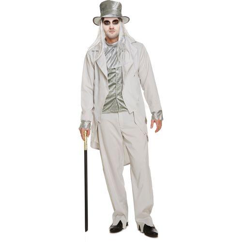 Zombie Gentleman Halloween Fancy Dress Costume Size M-L
