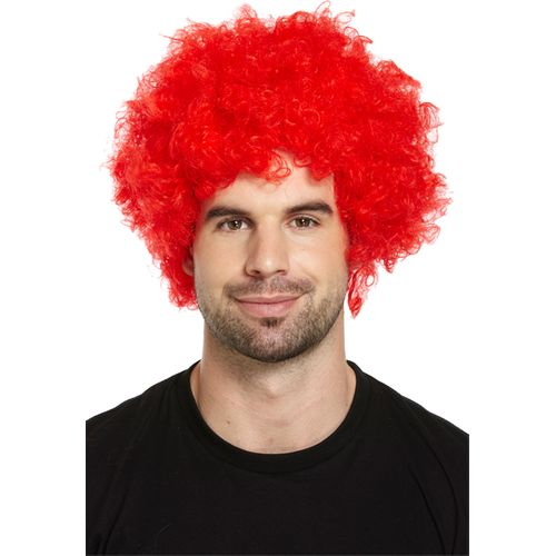 Red Clown Wig Fancy Dress Costume Accessory