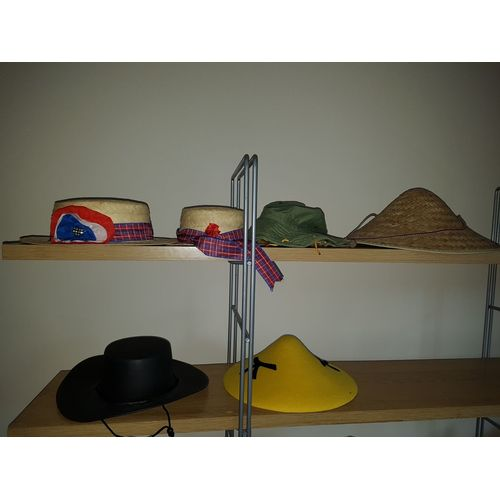 Ex Hire Countries Style Hats Photo Booth Pack Fancy Dress