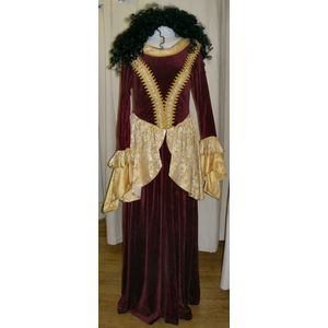 Royal Princess Red Ex Hire Sale Costume Size 8