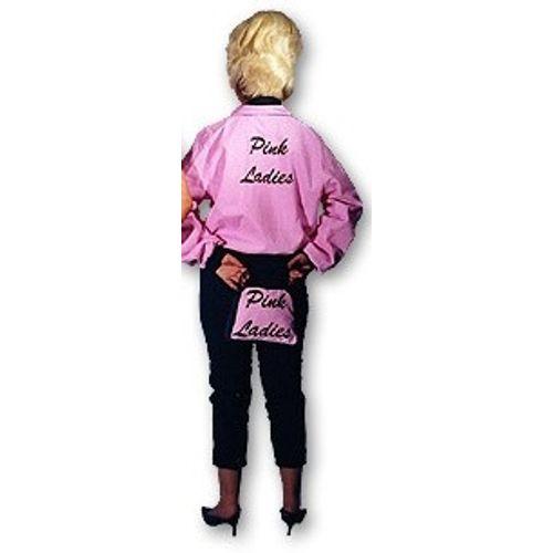 Pink Lady Suit Ex Hire Fancy Dress Sale Costume Size 14-16