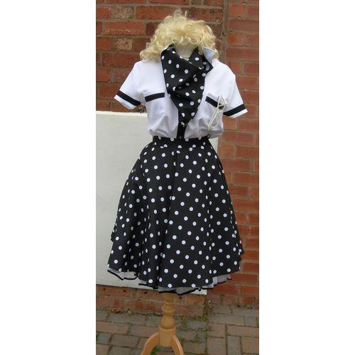 1950s Rock & Roll Lady Ex Hire Plus Size Sale Costume Size ...