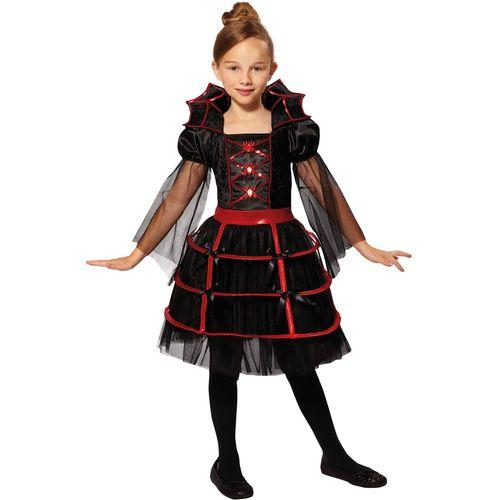Childs Vampire Cutie Halloween Fany Dress Costume Age 7-9 Years
