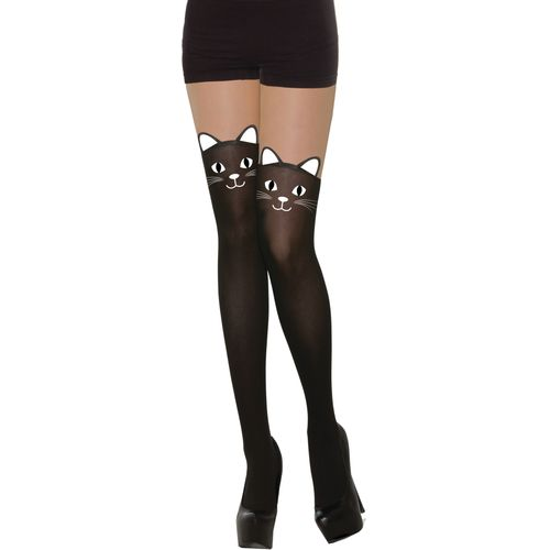 Wicked Kitten Cat Tights Halloween Fancy Dress Costume Accessory