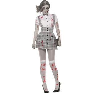 Zombie School Girl Costume Size 10-14