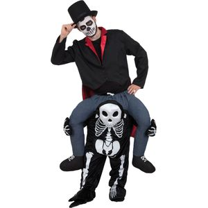 Skeleton Piggyback Ride On Costume