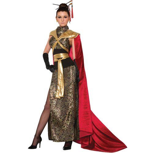 Dragon Empress Halloween Fancy Dress Costume Size 10-14