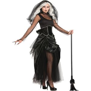 Shadow Ghost Lady Costume Size10-14