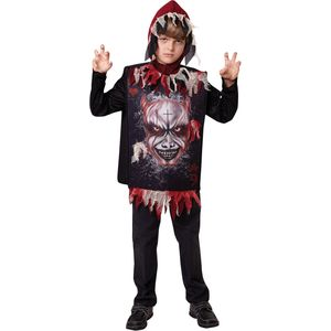 Childs Devil Tabard & Hat Costume Age 7-9 Years