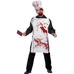 Bloody Chef Apron & Hat Set