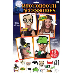 Halloween Party Photo Booth Selfie Props Accessory Pack