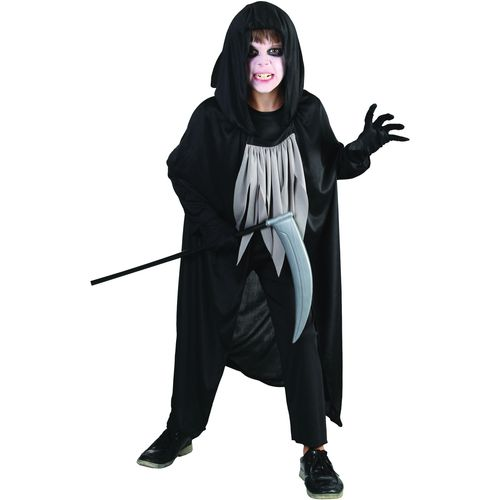 Childs Reaper Halloween Fanct Dress Costume Age 11-13 Years