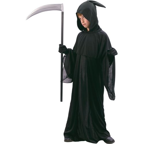 Childs Midnight Messenger Halloween Grim Reaper Fancy Dress Costume Age 5-7 Years