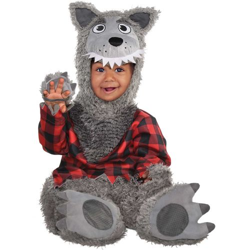Baby Wolf Toddler Halloween Fancy Dress Costume Age 6-12 Months