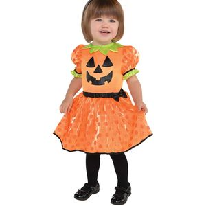 Baby Pumpkin Fancy Dress Toddler Age 6-12 Months