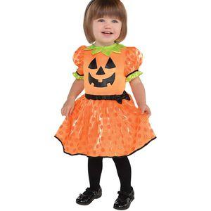 Baby Pumpkin Fancy Dress Toddler Age 6-12 Months