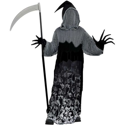Childs Dark Shadow Creeper Teen Costume Halloween Fancy Dress Age 14 - 16 Years