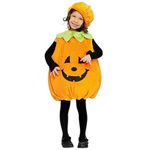 Childs Pumpkin Toddler Costume Age 2-3 Years