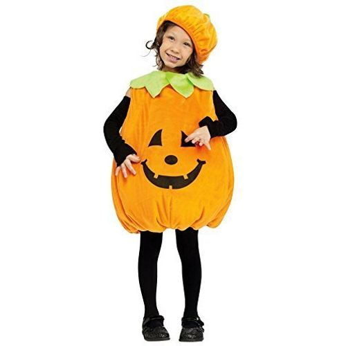 Childs Pumpkin Toddler Halloween Fancy Dress Costume Age 2-3 Years