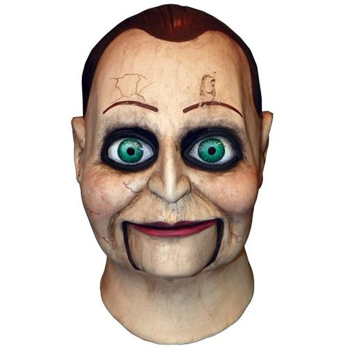 Official Dead Silence Billy Puppet Latex Mask Halloween Fancy Dress Costume Accessory