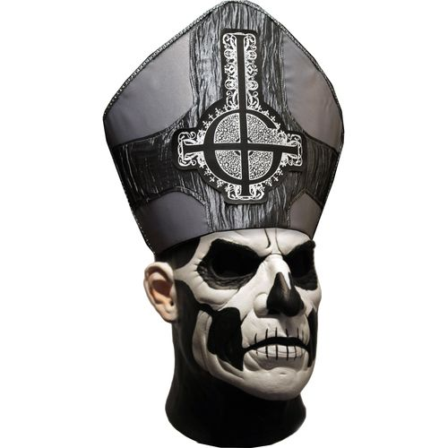 Official Ghost! Papa II Deluxe Mask Halloween Fancy Dress Costume Accessory