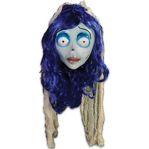 Official Corpse Bride - Emily Mask Halloween Fancy Dress Costume Accessory