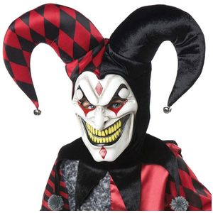 Jester Mask With Hat & Collar