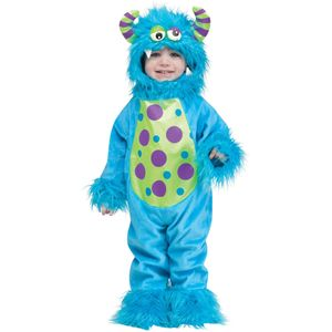 Childs Lil Blue Monster Costume Toddler up to 24 Months