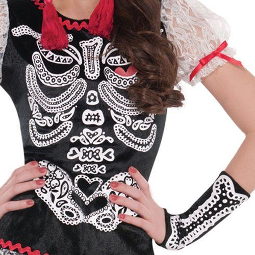 Sassy SkeletonTeen Size Halloween Fancy Dress Costume Age 14-16 Years