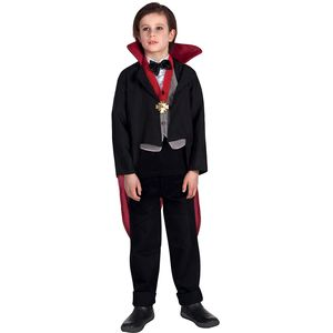 Childs Creepy Vampire Costume Age 10-12 Years